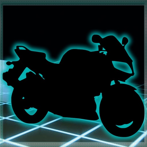 Motorcycle Futuristic Neon : Career End Xtreme icon