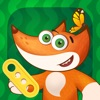 Tim the Fox - Puzzle - 無料の就学前のパズルゲーム