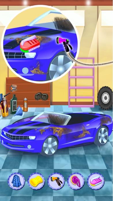洗車サロン&デザイン、あなたの車 - 子供のための車のメカニックゲームのスクリーンショット1