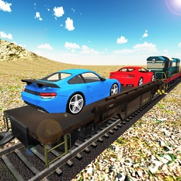 Car Cargo Transporter Train - Vehicle Transport and Heavy Freight Simulator 3D