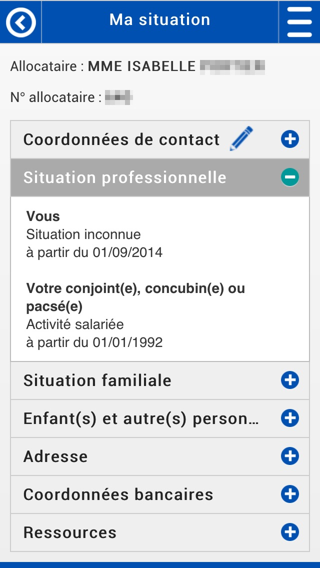 download Caf - Mon Compte apps 1