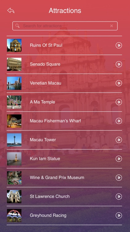 Macau Tourist Guide