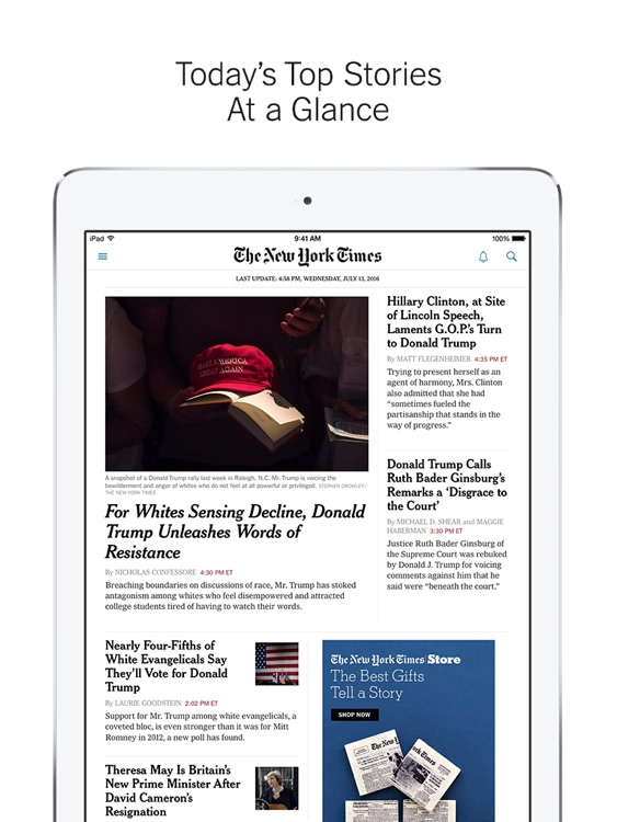 NYTimes – Breaking World, National & Politics News
