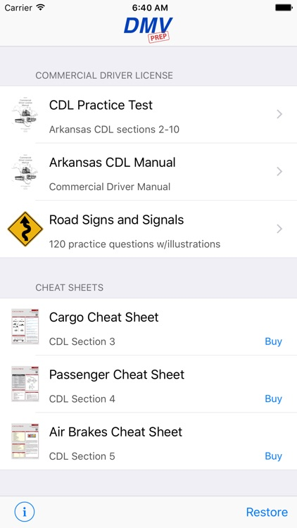 Arkansas CDL Test Prep