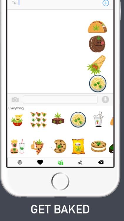 Stonermoji - Smoke Emojis Keyboard For Stoner Emoji Friends screenshot-3