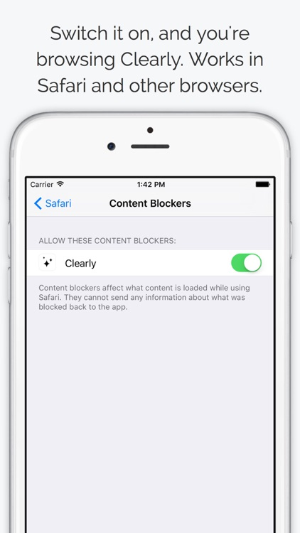 Clearly - Ad and Tracking Blocker