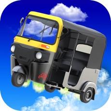 Activities of Flying Tuk Tuk Auto Rickshaw Simulator 3D