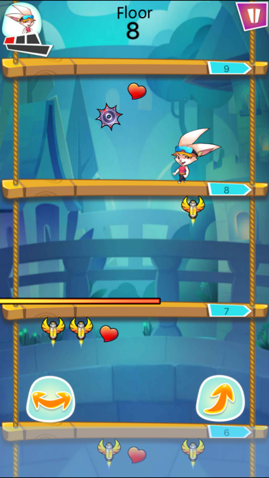 Endless Tower:History of the most exciting and cool online limit jumping escape big battle 1