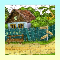 Colorful Jigsaw Photo World Puzzle Game for Kids