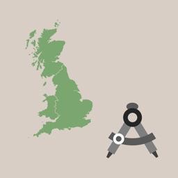 GB Grid Ref Worker - pro gps map coordinates