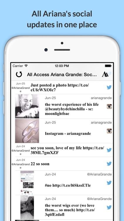All Access: Ariana Grande Edition - Music, Videos, Social, Photos, News & More! screenshot-3