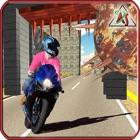 Highway Bike Rider – Motor Bike Race Simulator with Deadliest Stunts of 2016 icon