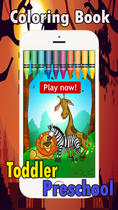 Preschool Coloring Book: coloring pages games free for