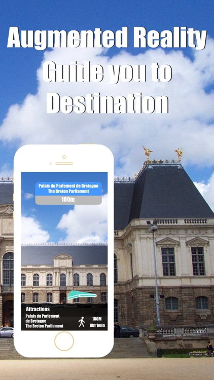 Rennes travel guide with offline map and paris val metro transit by BeetleTrip screenshot-1