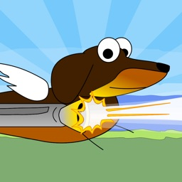 Dashing Ralph - Help this Flying Hero Dodge Dangerous Sonic Cat Missiles - Dog vs Cat Game