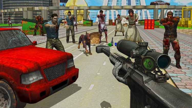 Infected Modern City the Zombie Frontier