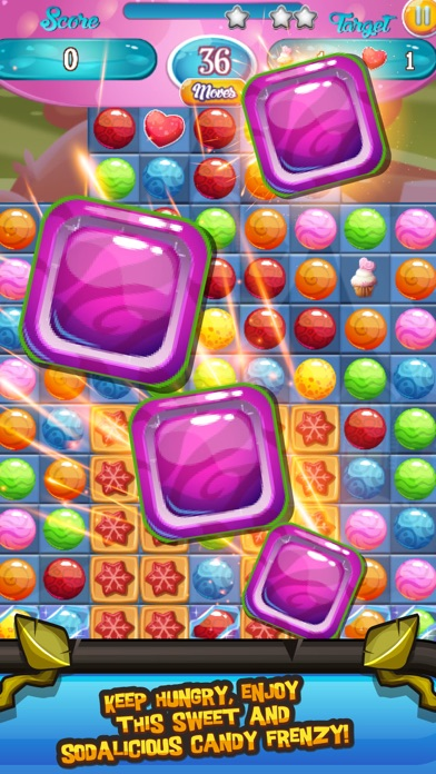 Candy Show Time - Match The Same Color Candy To Burst This