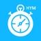 HYM 솔루션에서 회원이 사용할 수 있는 아이폰 앱입니다
