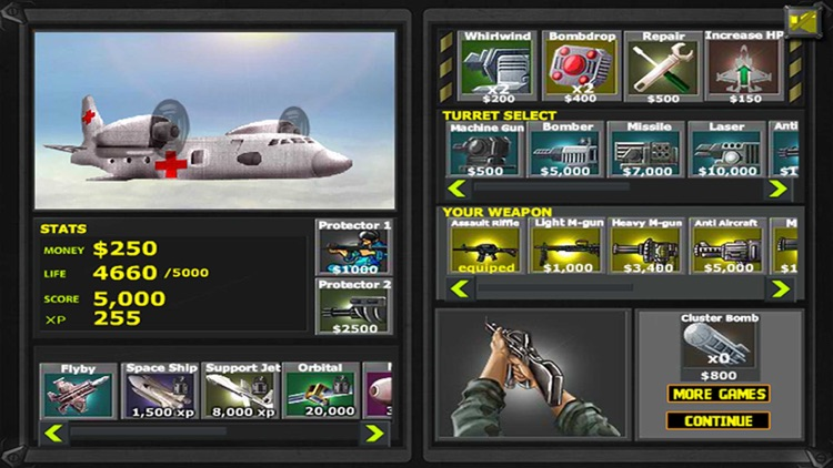 Air Attack War:Strike Fighters  - Sky Tower Defense Game
