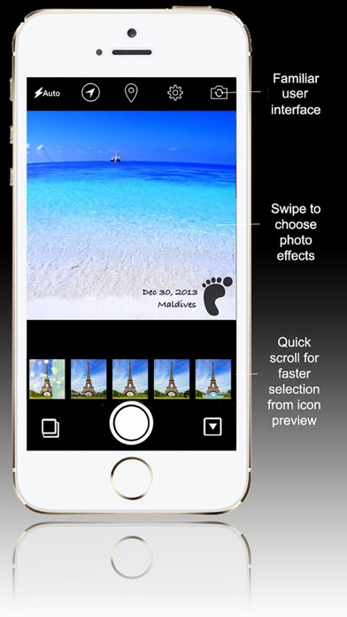 Fotocam Travel - Photo Effect for Instagram屏幕截圖1
