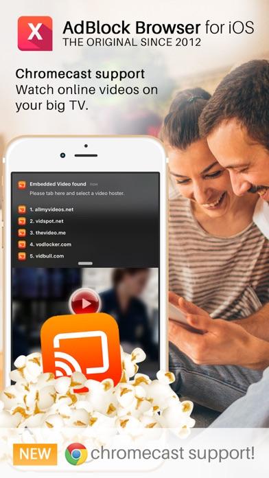 AdBlock Browser für ChromecastScreenshot von 2