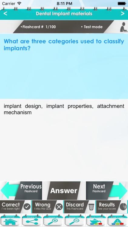 Advanced Dentistry: 3100 Flashcards screenshot-3