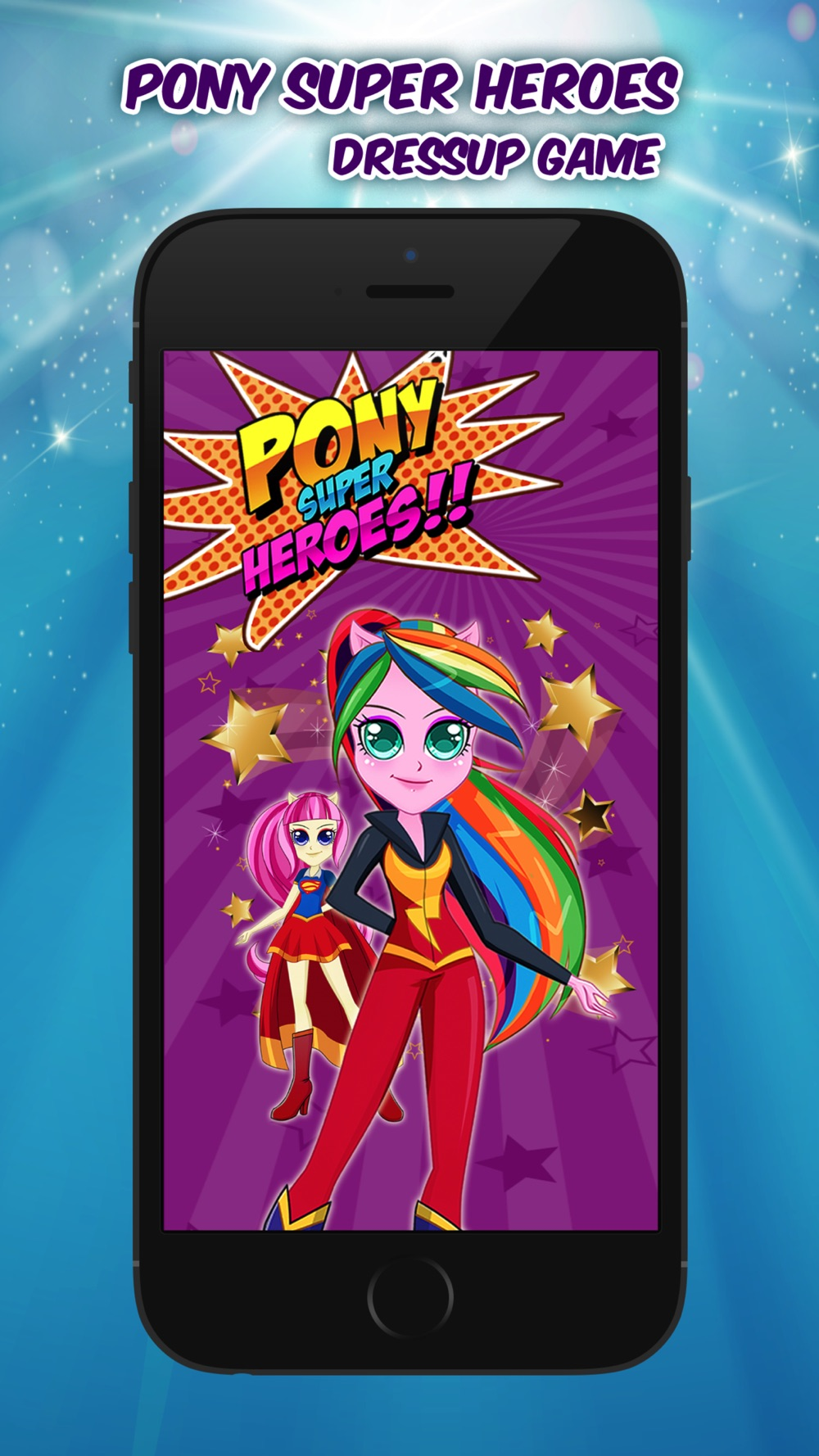 My Pony Heroes – Ever After Little Bratz Girl Big DressUp Games Cheat Codes