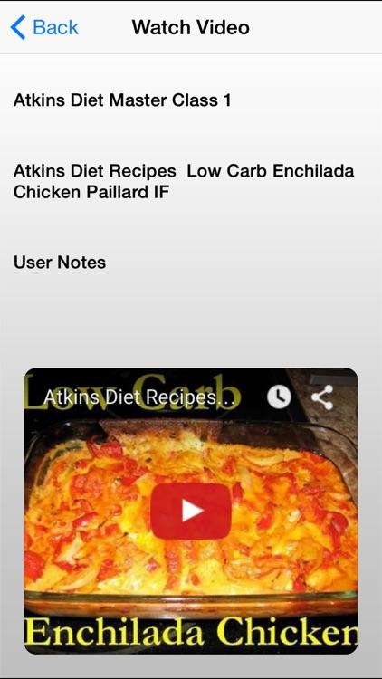Atkins Diet Master Class screenshot-3