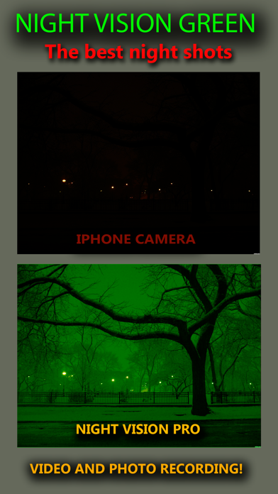 Night Vision Real Mode Camera Secret - True Green Light For Photo & Video screenshot three