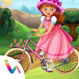 Princess Bicycle Fix it & Decoration Games For Girls