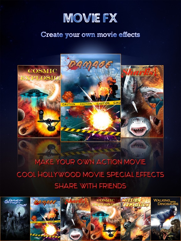 Hollywood Style Movie FX Pro - Super Power Effect Director & Extreme Scary Photo Sticker Edit.or-ipad-0