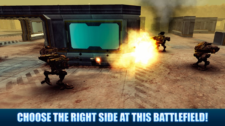 Battle MechWars PvP screenshot-3