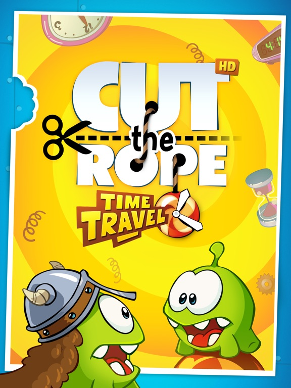 Cut the Rope: Time Travel™ на iPad