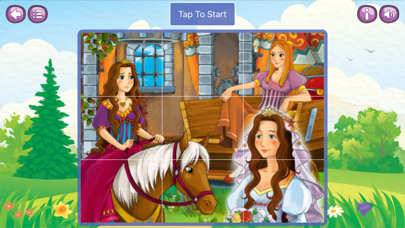 Princesses & Girls Jigsaw Puzzle screenshot two