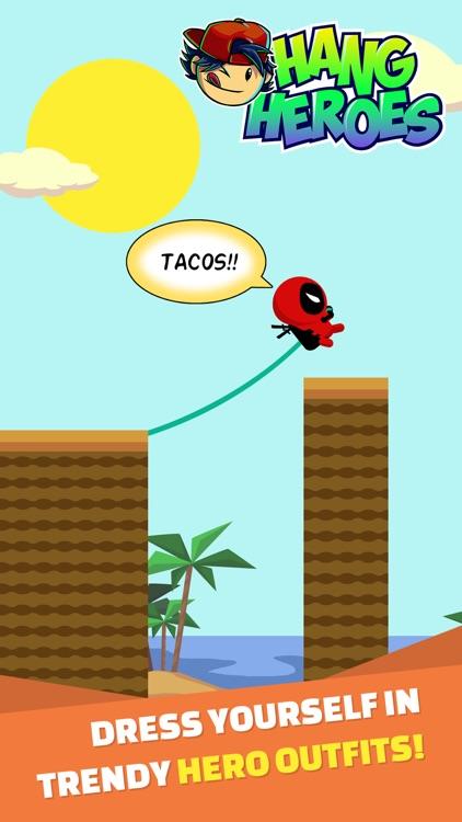 Hang Heroes: Rope Swing Arcade Game screenshot-3