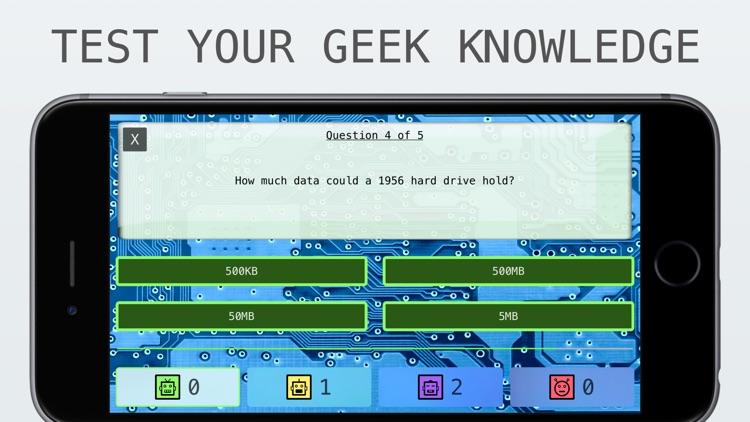 Geek Quiz - The Number One Nerd's Trivia Question Game screenshot-3
