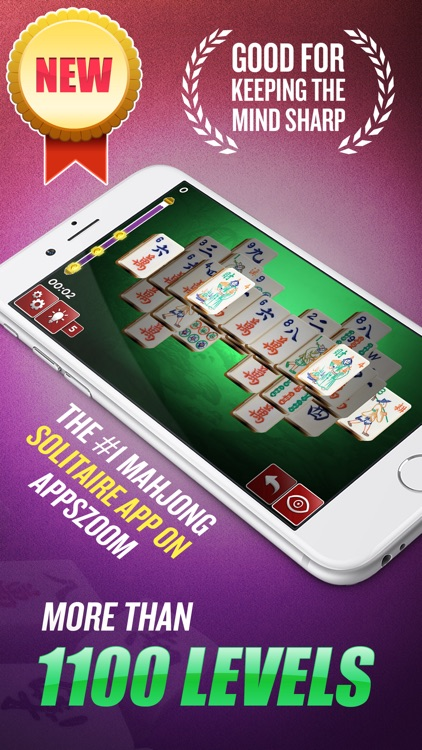 Mahjong - Majong Solitaire screenshot-0