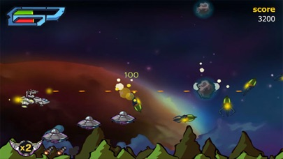 X-Fight Gunship - Galaxy Battle Shooting Simulation Game screenshot four