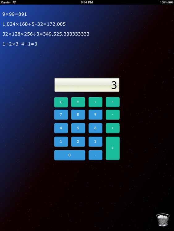 Mini Calculator for iPad - Pro