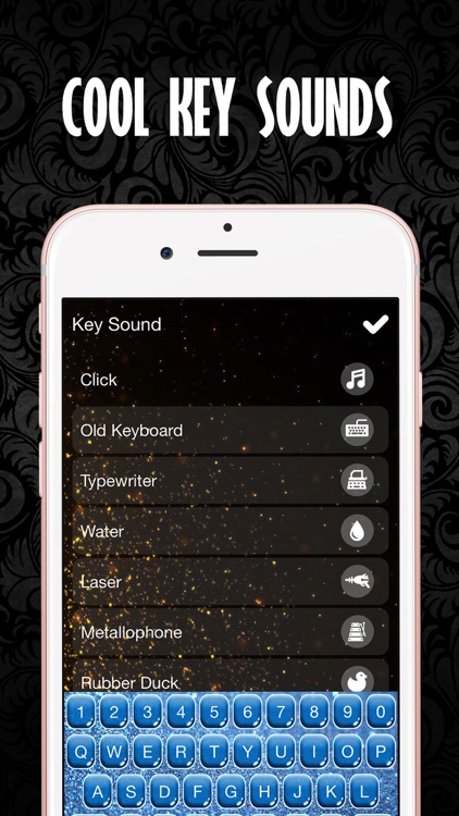 Glitter Keyboard Skins – Customize Keyboards with Glowing Backgrounds, New Emoji.s and Fonts screenshot-4