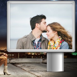 Hoarding Photo Frame - Picture Frames + Photo Effects