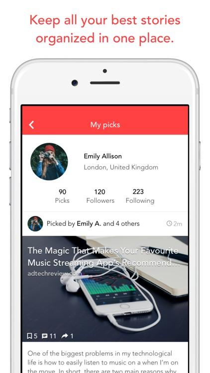Picks - Social Bookmarking