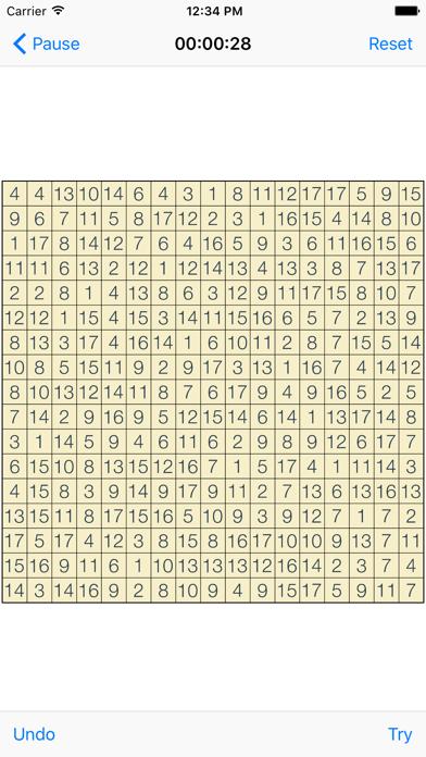 Hitori Puzzlesのおすすめ画像4