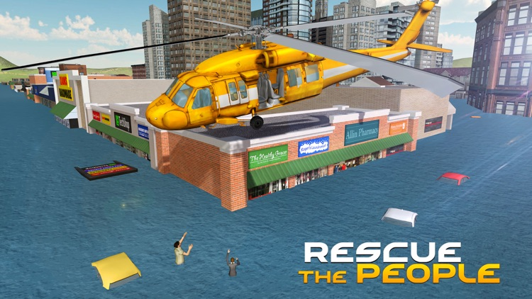City Helicopter Simulator – 3D Apache Flying Simulation Game screenshot-3