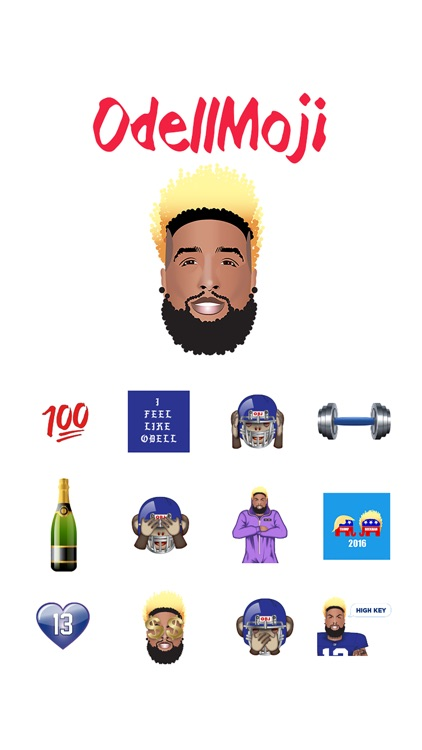 OdellMoji by Odell Beckham Jr. screenshot-0