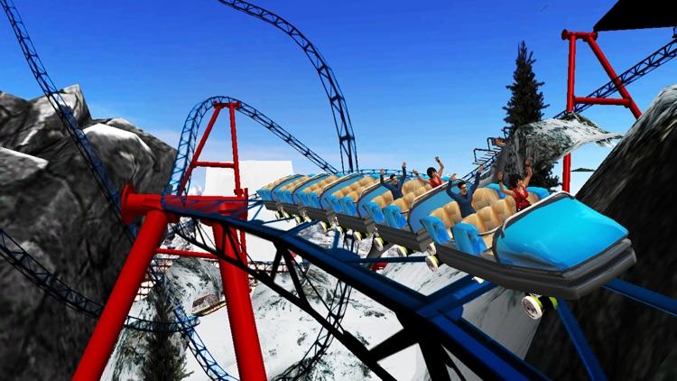 VR Roller Coaster Simulator 3d screenshot-4