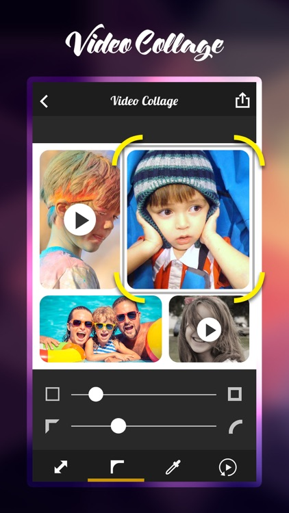 Pro Photo + Video Collage Maker with Frame, Music