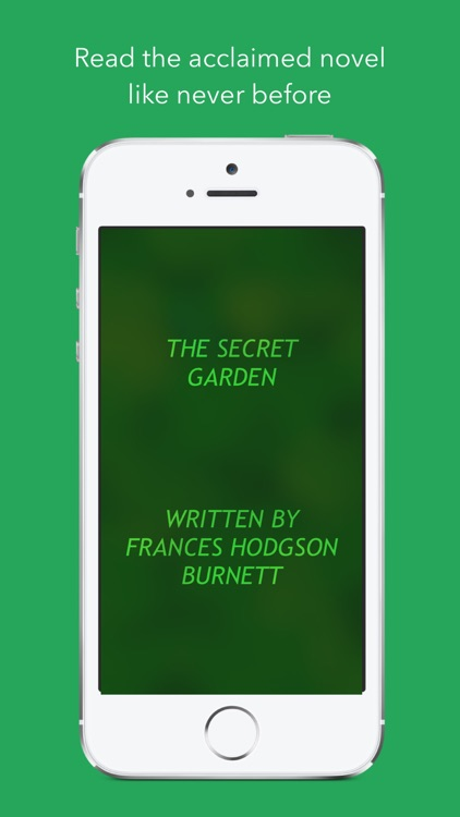 The Secret Garden - the renowned novel by Frances Hodgson Burnett