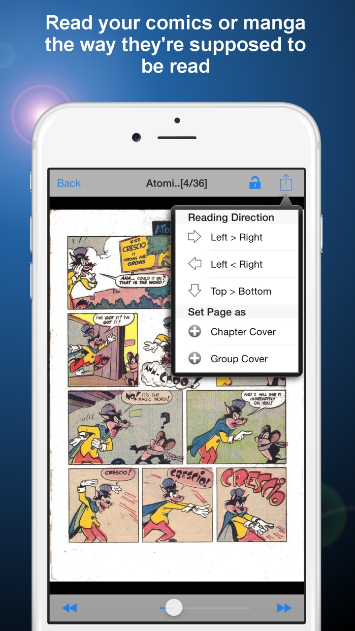 Manga Storm CBR - Comic Reader for PDF/CBR/CBZ Screenshot