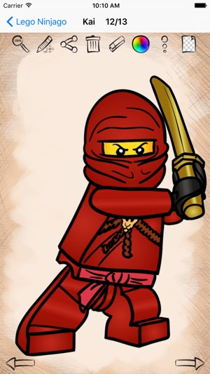 Learn how to draw lego ninjago edition on the app store